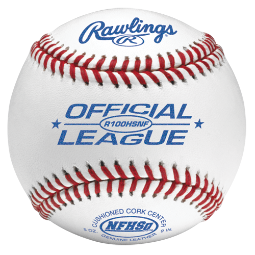 RAWLINGS R100HSNF High School Baseball with NFHS Stamp